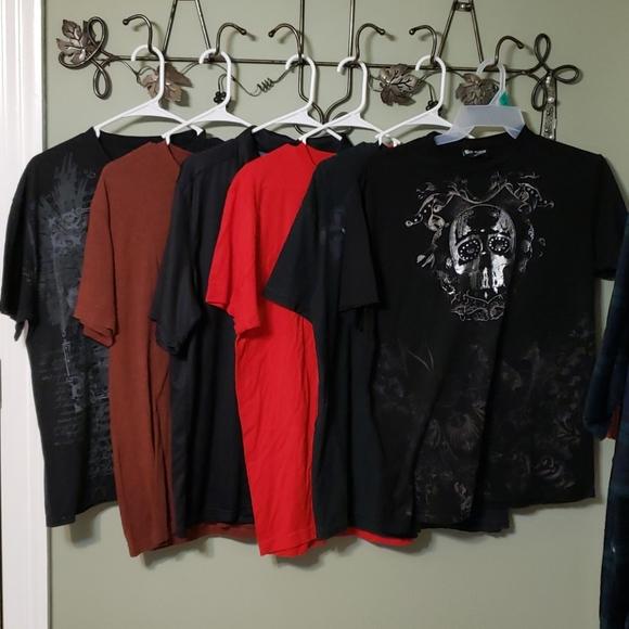 Men's short-sleeved shirt bundle